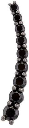 Black Diamond Alinka 'Dasha' left side large slider earring