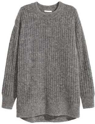 H&M Oversized Mohair-blend Sweater