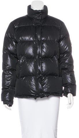 MonclerMoncler Metallic Puffer Jacket