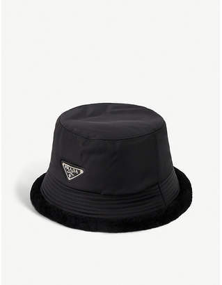 cd4736a91 Prada Men Black Hats - ShopStyle