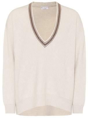 Brunello Cucinelli Monili cashmere sweater