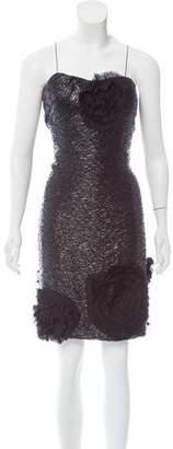 J. Mendel Silk Brocade Dress