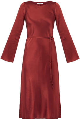 Gestuz Saga Rosewood Silk Dress