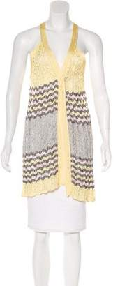 f31638086b3 Yellow Open Front Cardigan - ShopStyle