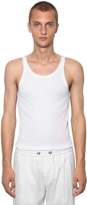 Dolce & Gabbana Cotton Jersey Tank Top