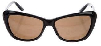Thierry Mugler Cat-Eye Tinted Sunglasses