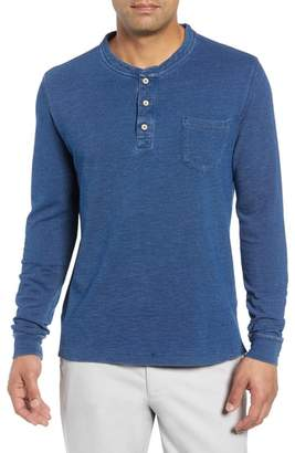 Peter Millar Seaside Long Sleeve Pocket Henley