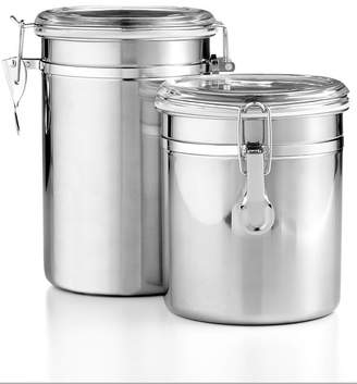 Martha Stewart Collection Essentials Set of 2 Food Storage Canisters, Created for Macy's