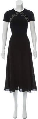 Ralph Lauren Wool Midi Dress w/ Tags