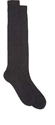 Barneys New York Men's Rib-Knit Cashmere Knee Socks