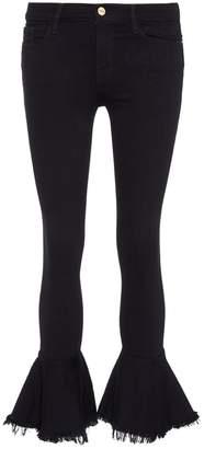 Frame 'Le Skinny de Jeanne' flared jeans