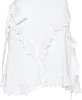Etoile Isabel Marant Isabel Marant, étoile Milou embroidered cotton miniskirt