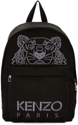 Kenzo Black Tiger Icon Backpack $235 thestylecure.com