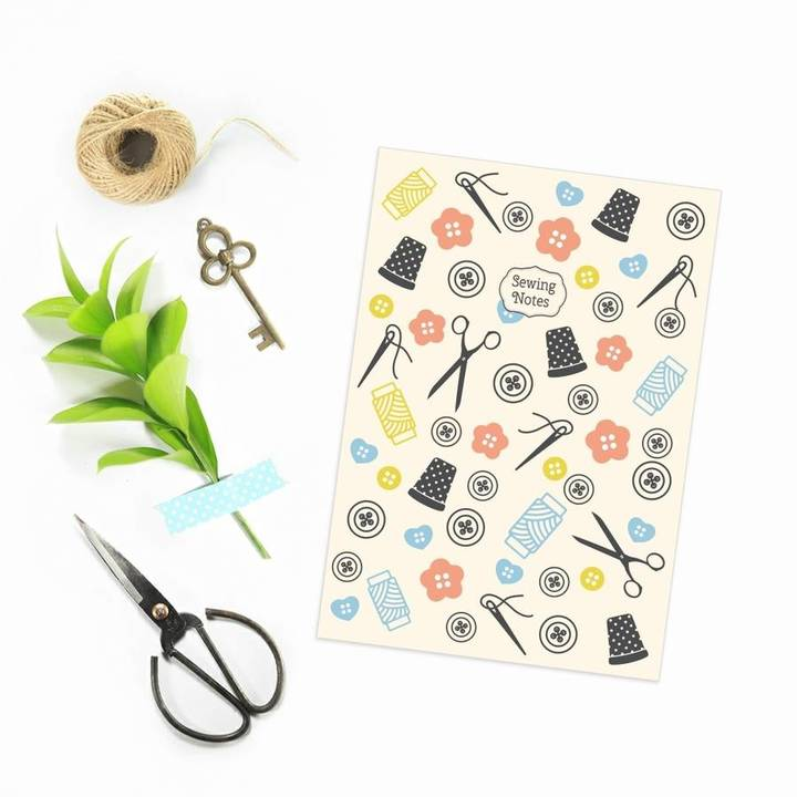 Ink & Ocean A5 Sewing Notes Notebook