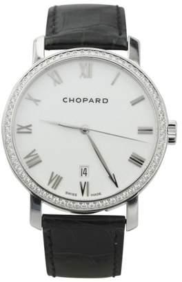 Chopard Classic 171278 18K White Gold Diamond Bezel 40mm Watch