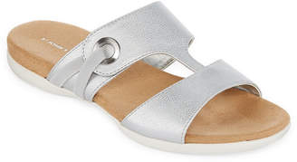 ST. JOHN'S BAY Tallon Womens Slide Sandals