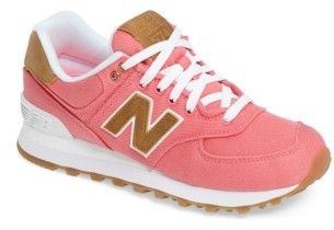 Women's New Balance 574 Canvas Sneaker $79.95 thestylecure.com