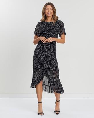 Atmos & Here Valerie Chiffon Dress