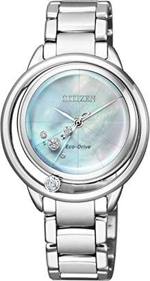 [シチズン]CITIZEN 腕時計 CITIZEN L エコ・ドライブ EW5521-81D レディース