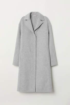 H&M Cashmere-blend Coat - Gray