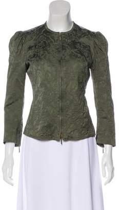Plein Sud Jeans Jacquard Casual Jacket