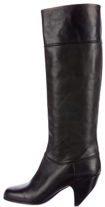 Marc JacobsMarc Jacobs Leather Knee-High Boots
