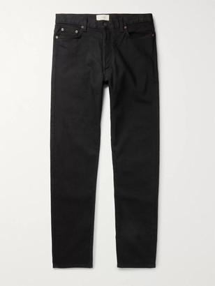 The Row Bryan Denim Jeans - Men - Black
