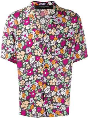 Garcons Infideles floral print shirt