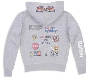 Butter Shoes Girls' NYC Hoodie - Little Kid, Big Kid