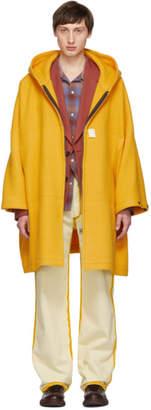 N.Hoolywood Yellow Wool Coat