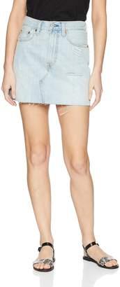 Levi's Women's Deconstructed Skirt