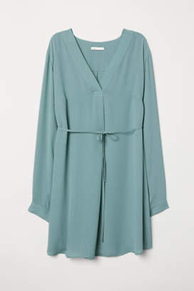 H&M MAMA Creped Tunic - Turquoise