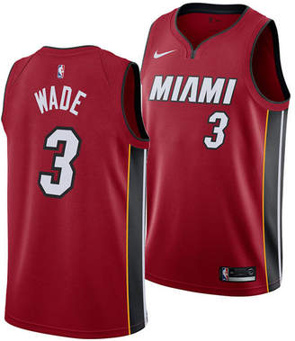 Nike Men Dwyane Wade Miami Heat Statement Swingman Jersey