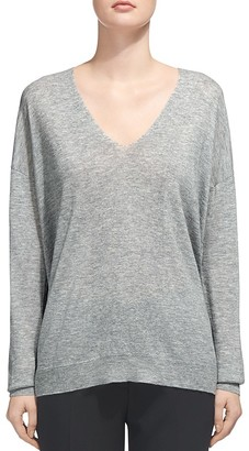Whistles V-Neck Sweater $160 thestylecure.com