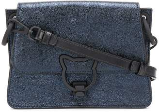 Karl Lagerfeld K/Katlock metallic cross body bag