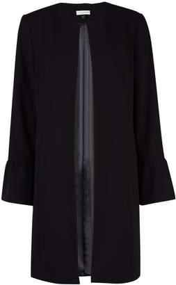 Dorothy Perkins Womens **Lilly & Franc Black Long Duster Coat