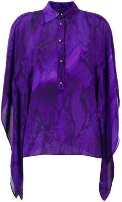 Just Cavalli long-sleeved blouse