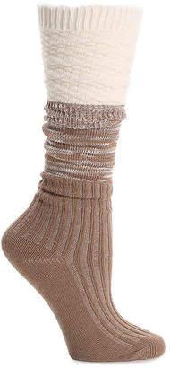 BearPaw Colorblock Boot Socks - Women's