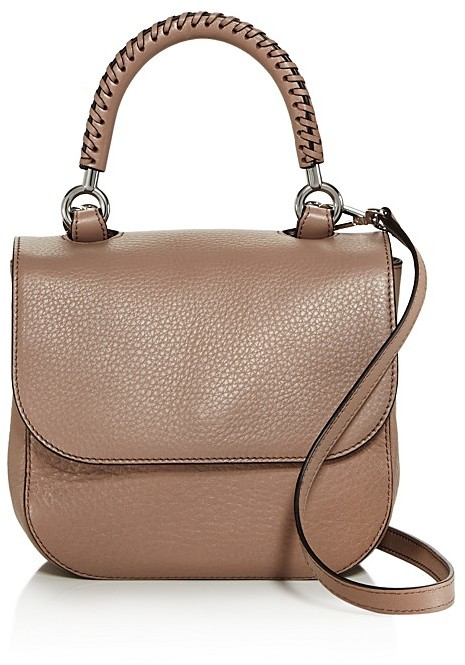 Max Mara Max Mara Braided Small Leather Satchel