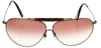Paul Smith Gradient Aviator Sunglasses