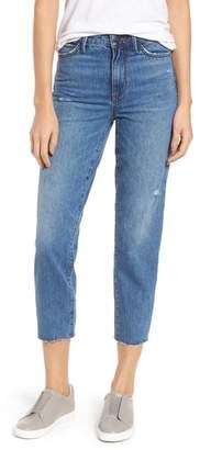 Sam Edelman The Mary Jane Raw Edge Crop Jeans