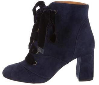 2716c90cd80 Chloé Suede Lace-Up Boots w  Tags