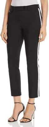 Karl Lagerfeld Paris Compression Side-Stripe Pants