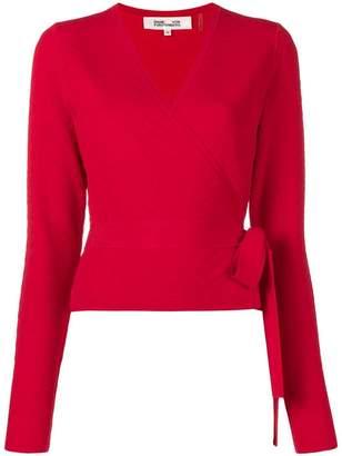 Diane von Furstenberg belted sweater