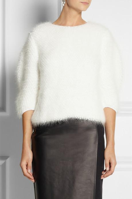 Fendi Angora and wool-blend sweater