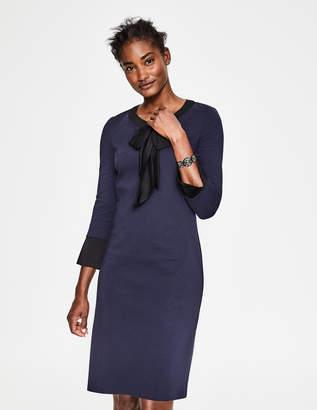 Navy Ponte Dress Shopstyle Uk