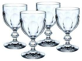 Villeroy & Boch Bernadotte Crystal Claret Glasses/Set of 4