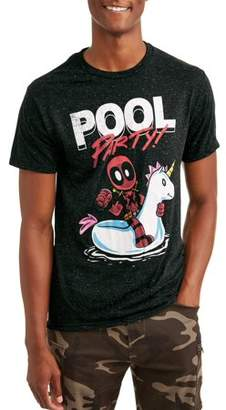 Pool' Super Heroes Marvel Deadpool Pool Party Men's Graphic T-shirt