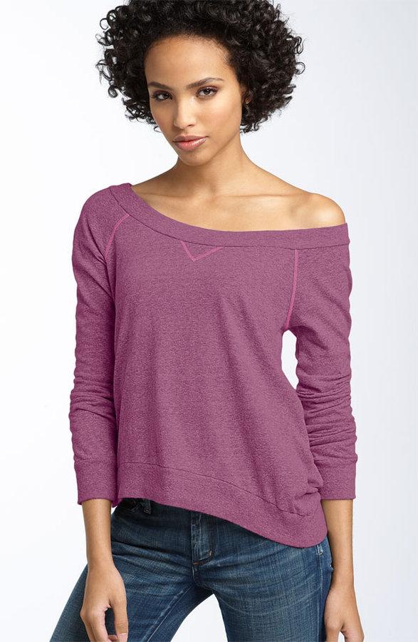 Splendid Wide Neck Sweatshirt (Nordstrom Exclusive)
