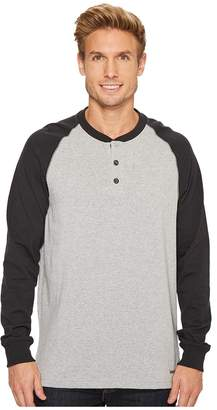 Timberland Cotton Core Long Sleeve Henley Men's Clothing